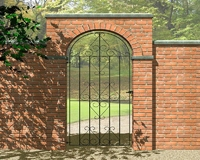 1.84m Ludlow Tall Gate 840mm