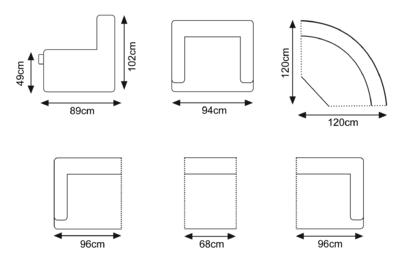 stefano dimensions