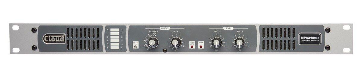 Cloud MPA 240MKII 240W   Mixer Amplifier