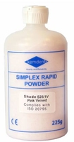 SIMPLEX RAPID POWDER PINK VEINED 225GM