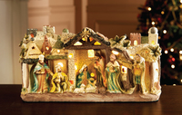 Light Up Nativity Scene