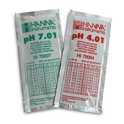 Buffer Sachets pH4 & pH7 (5+5)