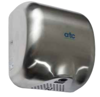 CHEETAH HIGH SPEED HAND DRYER STAINLESS STEEL