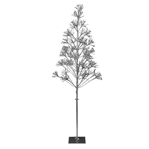 LED Sparkle Tree - 6ft - Silver