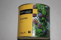 Tin Prunes In Light Syrup 2.6kg