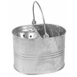 Mop Bucket & Straining Shelf Galvanised