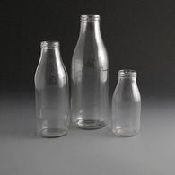 Glass Milk & Juice bottles