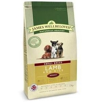 James Wellbeloved Adult Dog Small Breed - Lamb & Rice 1.5kg