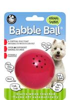 Pet Qwerks Animal Sounds Babble Ball Medium x 1