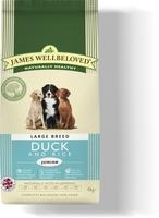 James Wellbeloved Junior Large Breed - Duck & Rice 15kg
