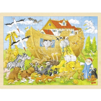 Noah's Ark Wooden Jigsaw Puzzle
