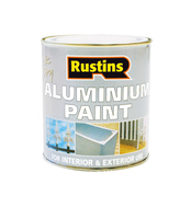 RUSTINS QUICK DRYING ALUMINIUM PAINT 125ML