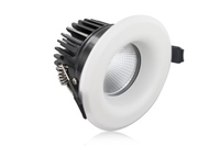 9W Lux Fire IP65 Fire Rated Downlight White 3000K