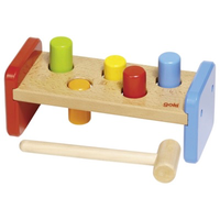 Wooden hammer game for toddlers