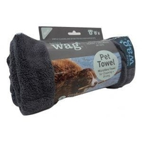 Henry Wag Microfibre Pet Towel Small 100 x 70cm x 1