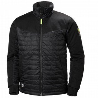 Helly Hansen Black Aker Insulated Jacket
