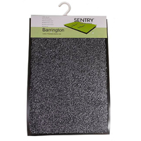 Sentry Barrington Cotton Washable Mat 60x90cm  Grey
