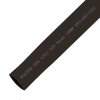 Heat Shrink | Black 16mm Diameter 100M Reel