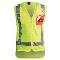 STMS Hi Vis TTMC-W Supervisor Safety Vest