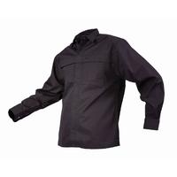 TWZ Plain Long Sleeve Polycotton Shirt 170gsm