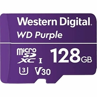 WD PURPLE 128GB UHS Speed Class 3 Video Speed Class 30