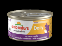 Almo Nature Daily Menu Cat Foil Mousse with Tuna & Chicken 85g x 24