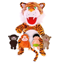 The Jungle Book hand and finger puppet set