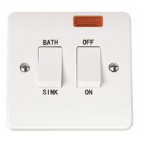 Click Mode CMA024 20A DP Sink Bath Switched Neon