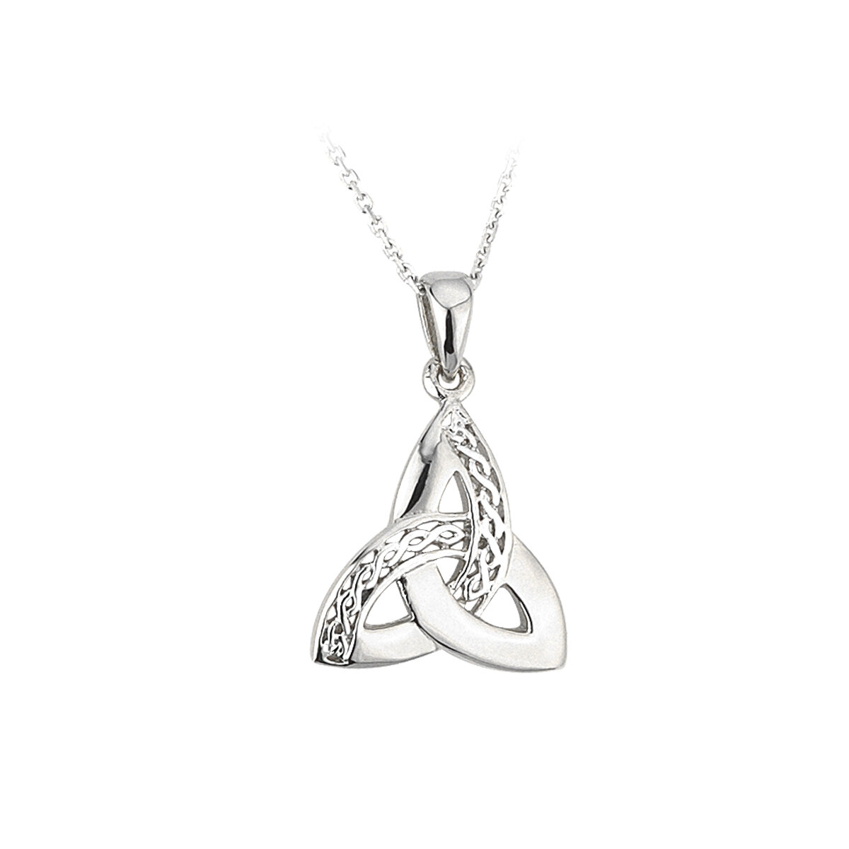 sterling silver celtic trinity knot pendant s44867 from Solvar