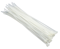 Amtech 30Pc (4.8 X 250mm) Cable Tie - White