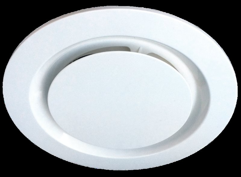 Ventair Airbus 250MM Grille Round White