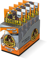 1244002 50ML GORILLA GLUE CLEAR 5 PACK DISPLAY