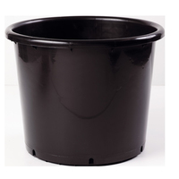 Soparco SD Container Pot Low Black 20lt