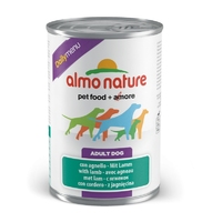 Almo Nature Dog Daily Menu Can - Lamb 400g x 24