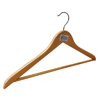 Orwell Wooden Wishbone Hanger with Trouser Bar