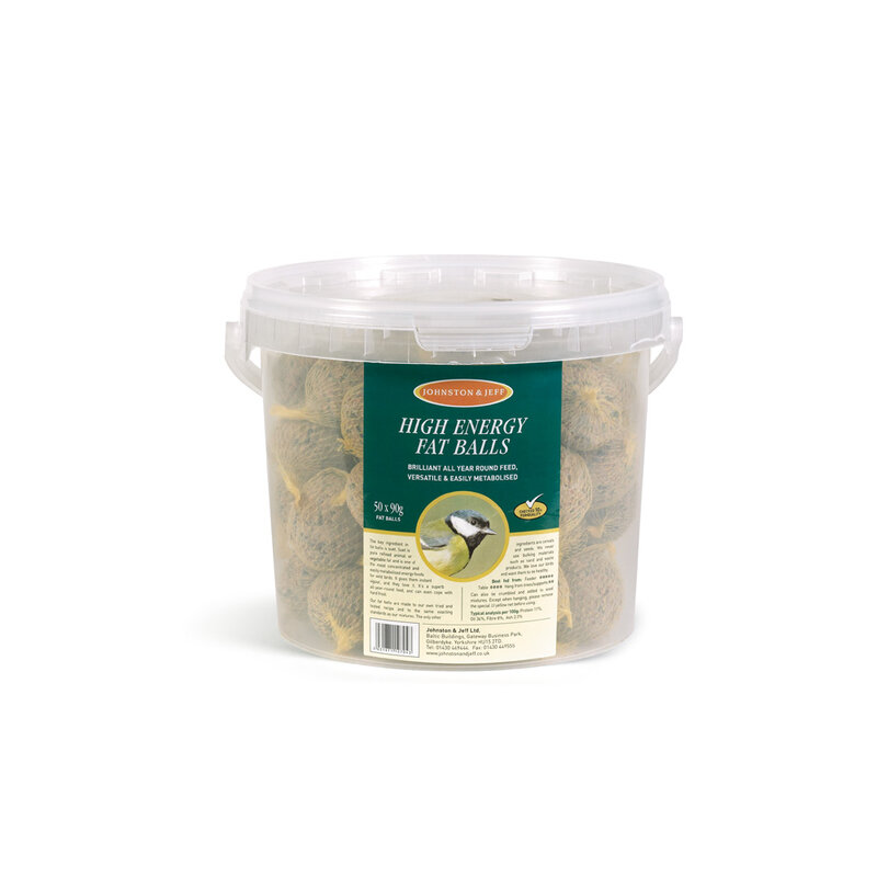 Johnston & Jeff Fatballs without Nets Tub 50 x 90g