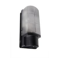 Robus Whitestar IP44 60W Bulkhead Photocell Black