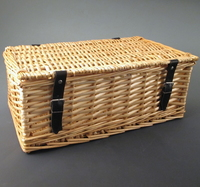 Medium Wicker Hamper Basket.