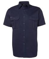 Cotton Short Sleeve Shirt 190gsm