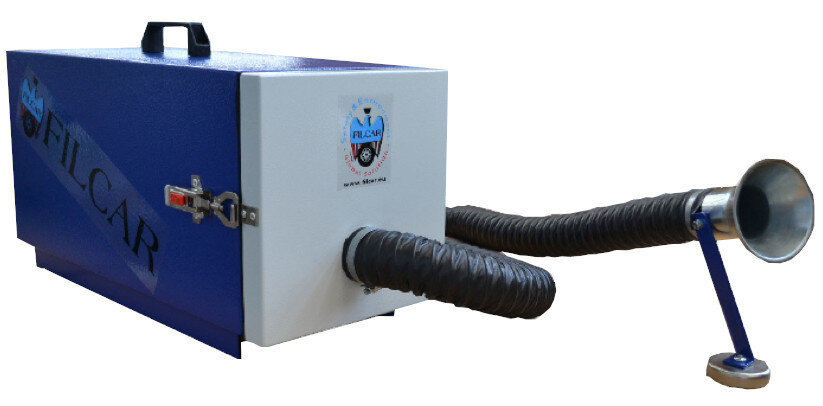 Portable Fume Extractor 1.15kW 230V w/ Hose & Magnetic Foot Sureweld Dublin