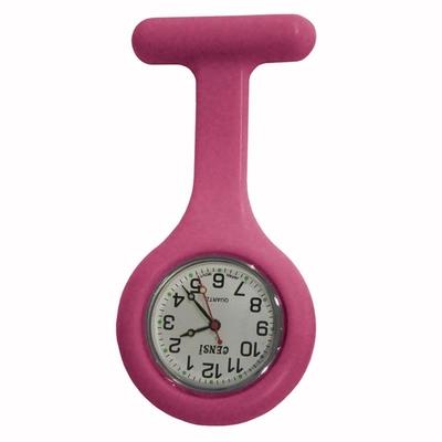 Fob Watch Nurses Pink Gel