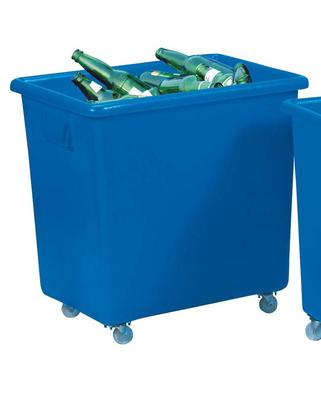 """Bottle Trolley Blue 26 x 18"""" x 25"""""""