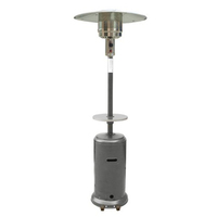 Stand Up Patio Heater Silver Plus Accessories
