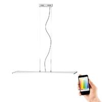 Paul Neuhaus Riller Warm White & RGB 2 x 13.5W LED Linear Pendant | LV2002.0002