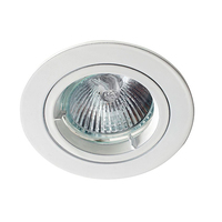 Robus GU10 Straight Downlight White