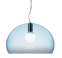 Kartell Fly Pendant K2 Cloud Blue C/W Lamp