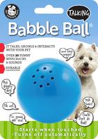 Pet Qwerks Talking Babble Ball Medium x 1