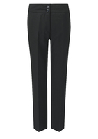 Black Carla Ladies Slim Leg Trouser