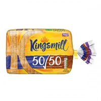 Bread Fresh- Kingsmill Thick 50/50  (800g) 1 Loaf
