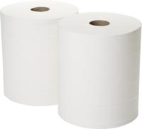 Twin Wiper Rolls White 2x 365 m